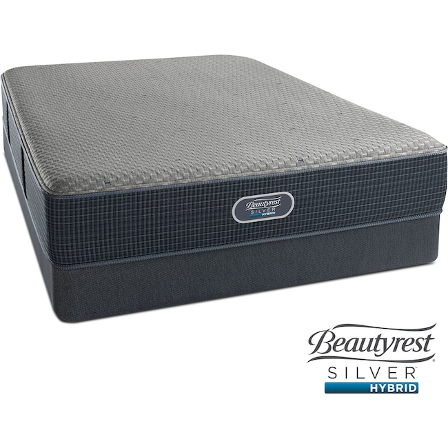 Mattresses and Bedding - Gulf Shores Luxury Firm Queen Mattress and Low-Profile Foundation Set