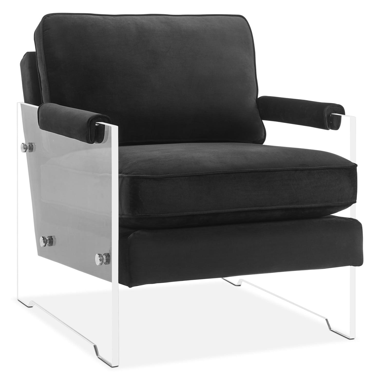 Lexi Accent Chair - Black