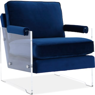 Lexi Accent Chair - Blue