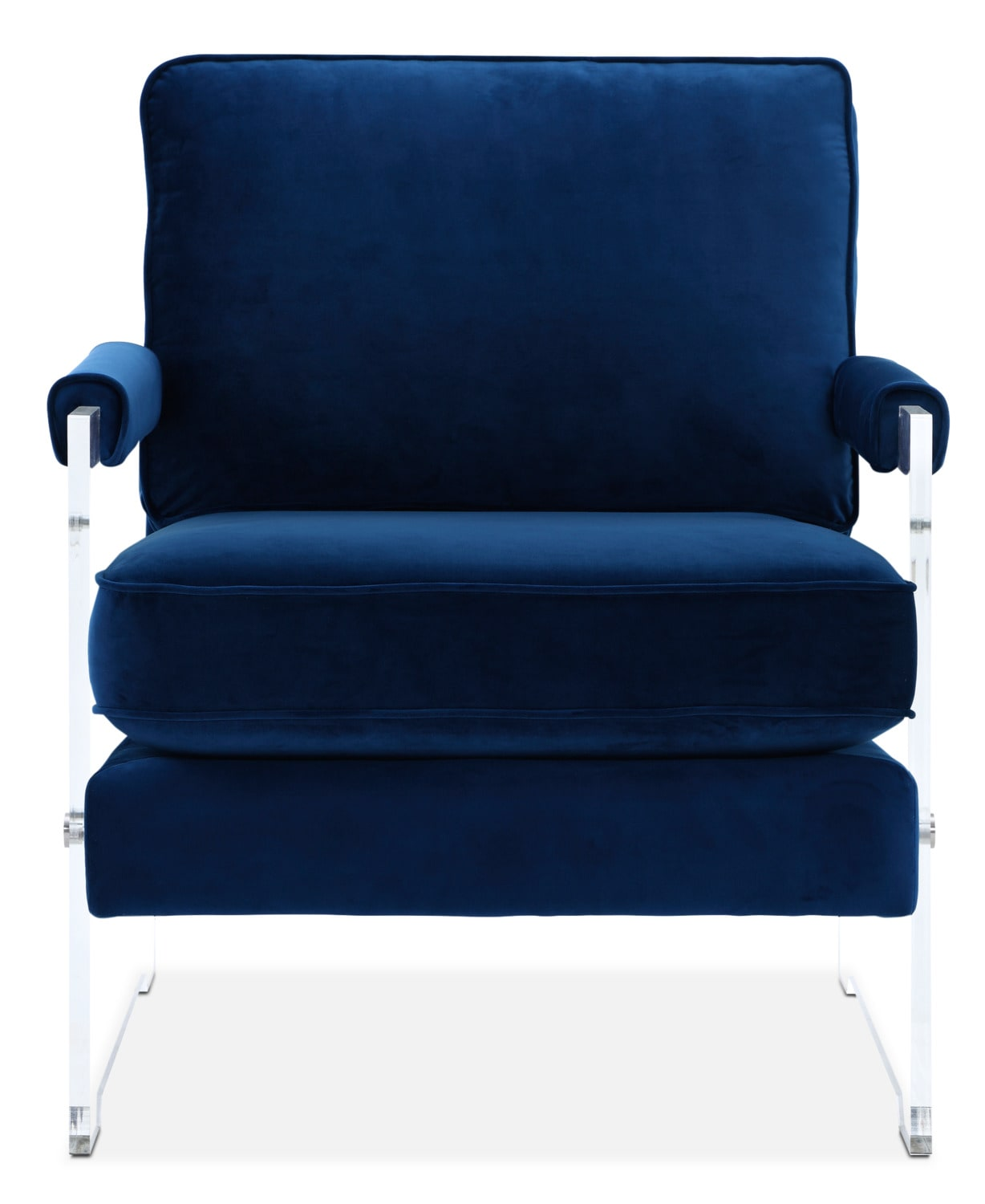 tot tutors focus comfy reading chair with book storage blue