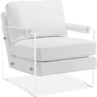Lexi Accent Chair - White