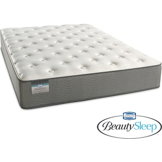 French Grey Plush California King Mattress