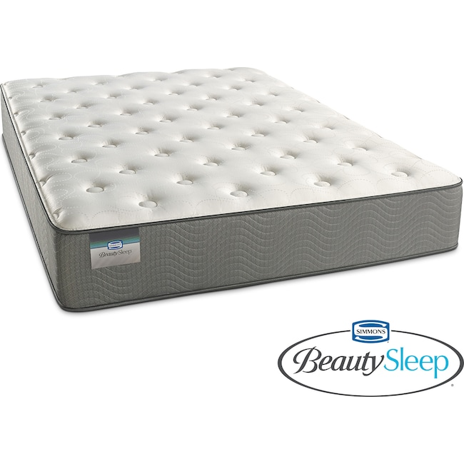 Mattresses and Bedding - French Grey Plush Full Mattress