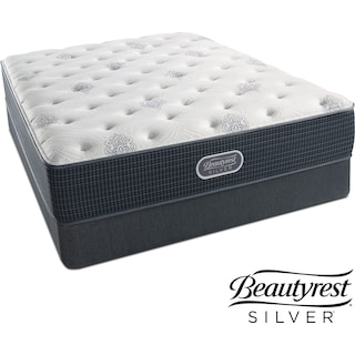 White River Luxury Firm Twin Mattress and Low-Profile Foundation Set