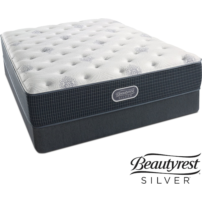 Mattresses and Bedding - White River Luxury Firm Queen Mattress and Low-Profile Foundation Set