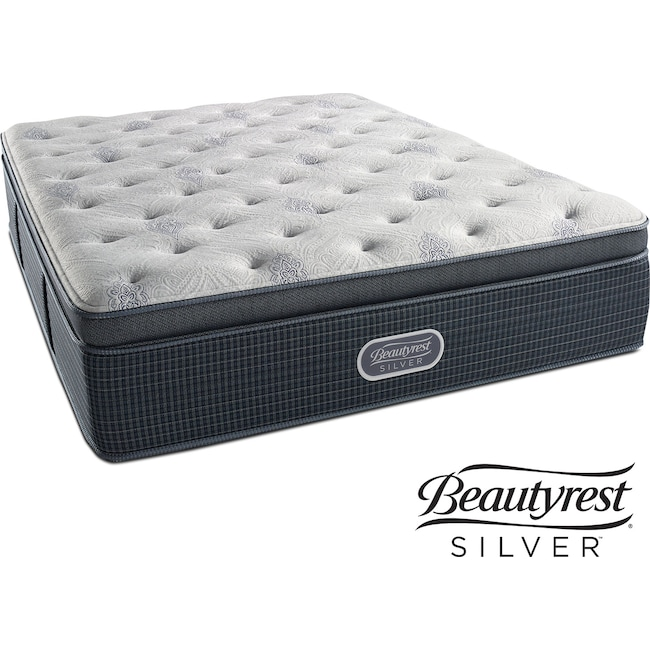 Mattresses and Bedding - Crystal Ridge Plush Pillowtop California King Mattress