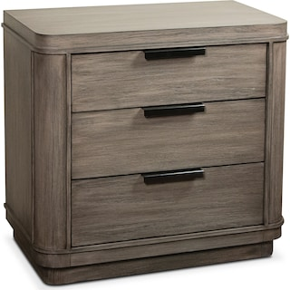 Malibu Nightstand - Gray