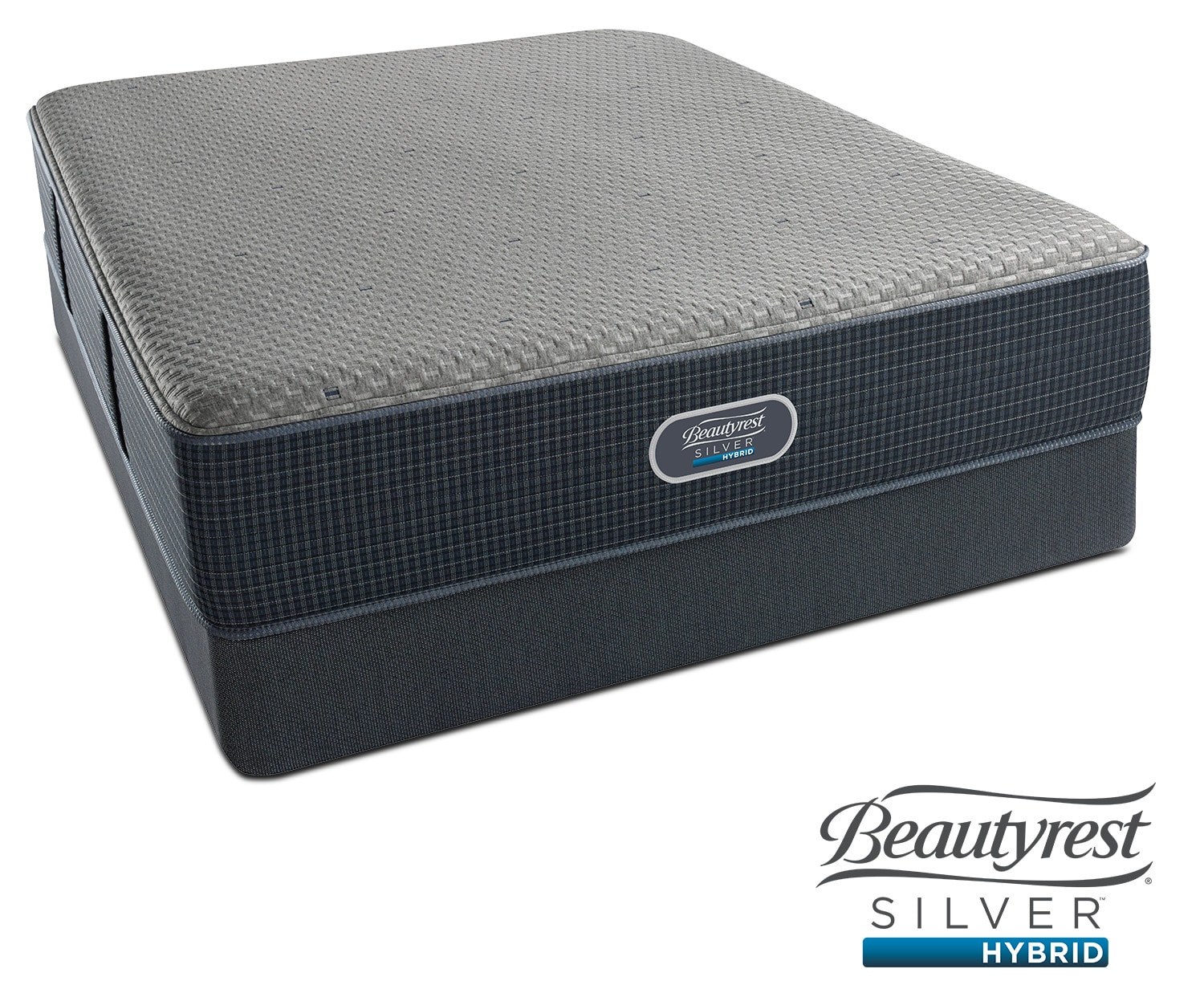 Mattresses and Bedding - Siesta Key Plush King Mattress and Split Low-Profile Foundation Set