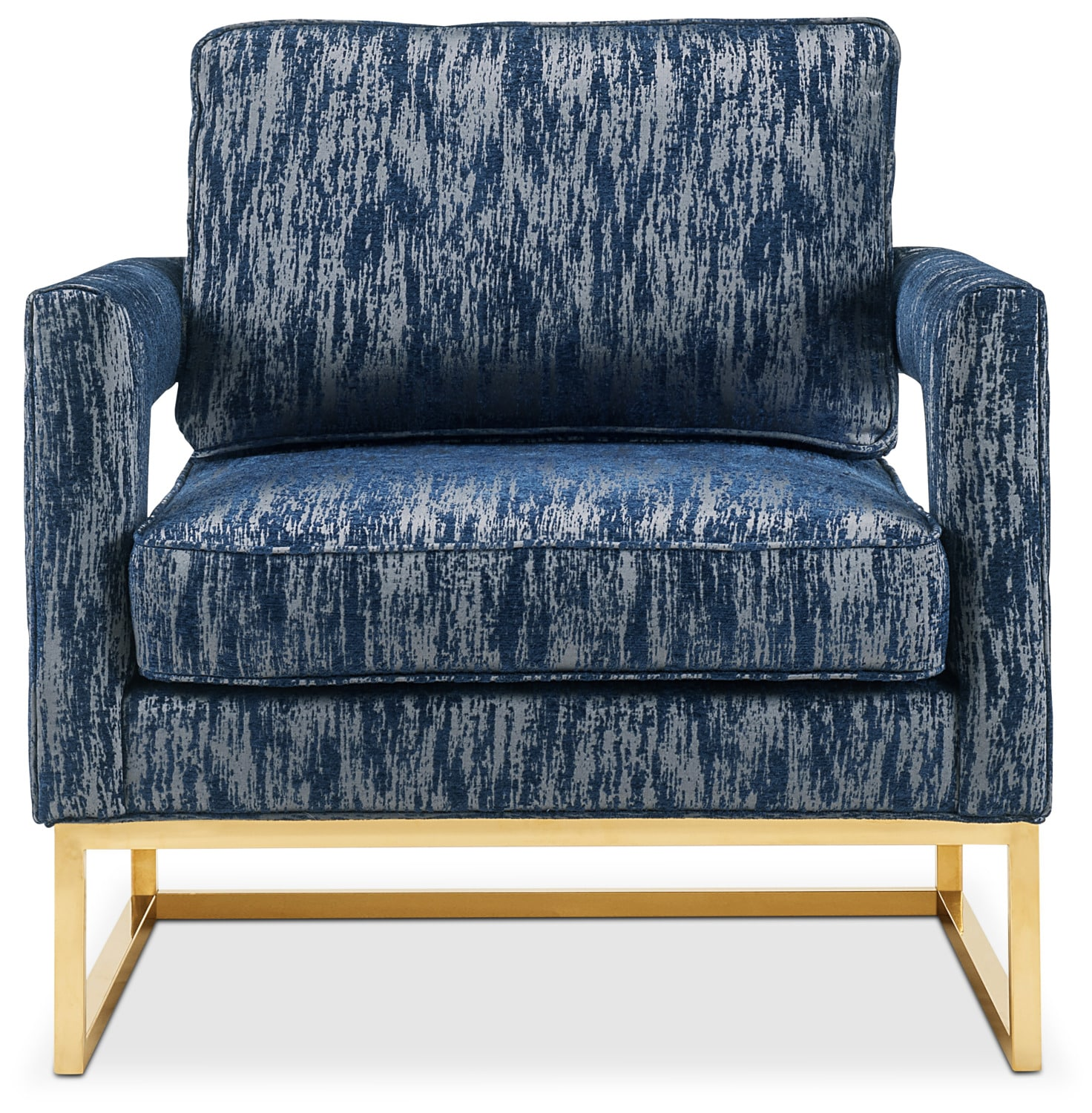 Levana Accent Chair Blue