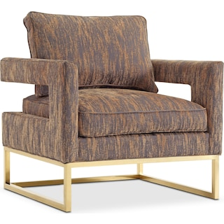 Levana Accent Chair - Gold