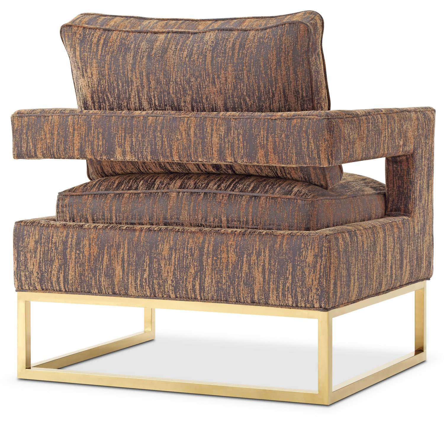 Levana Accent Chair Gold