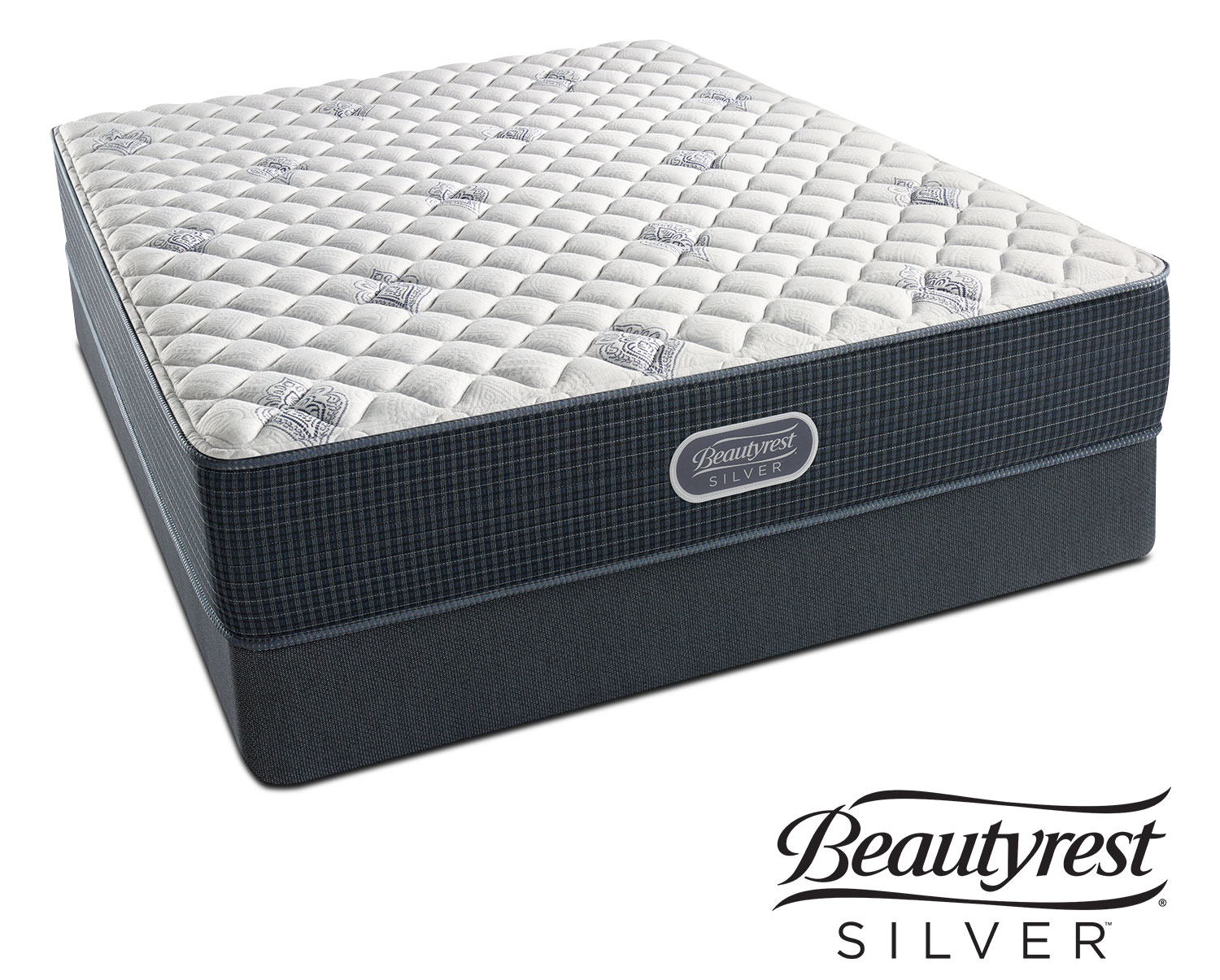 Mattresses and Bedding - White River Extra Firm Queen Mattress and Low-Profile Foundation Set