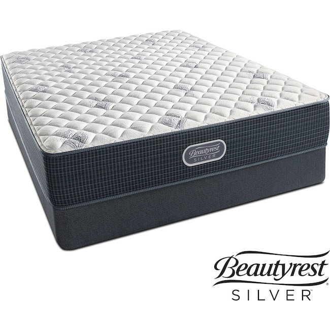Mattresses and Bedding - White River Extra Firm Queen Mattress and Foundation Set