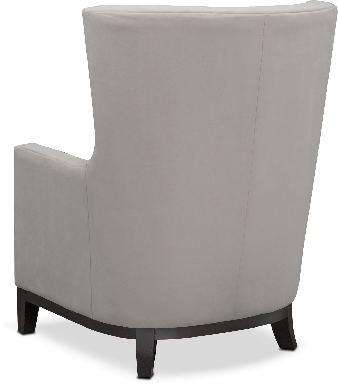 Brianna Accent Chair Light Gray