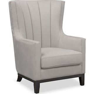 Brianna Accent Chair - Light Gray