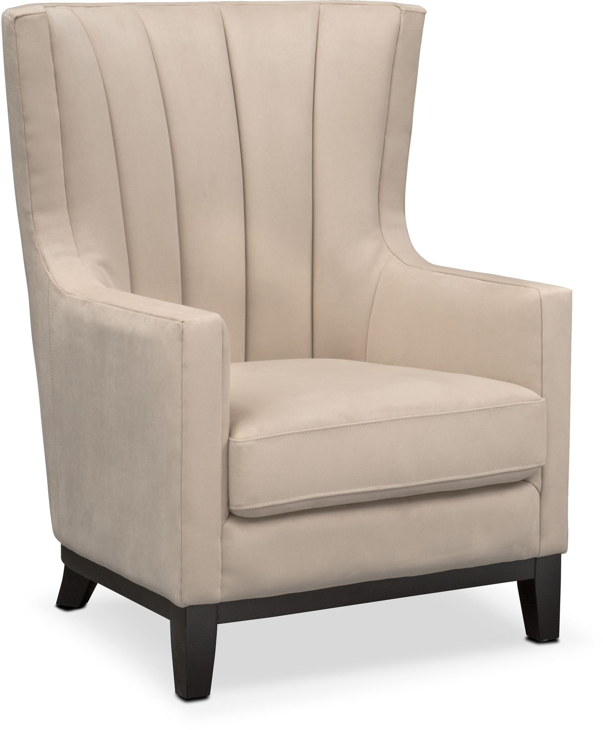 Accent and Occasional Furniture - Brianna Accent Chair - Taupe