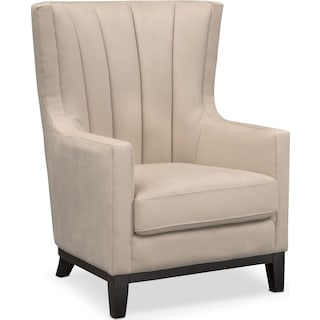 Brianna Accent Chair - Taupe