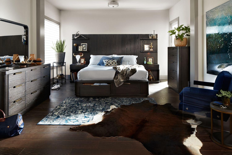 Malibu Bedroom Furniture The Malibu Tall Storage Bedroom Collection Umber Value City