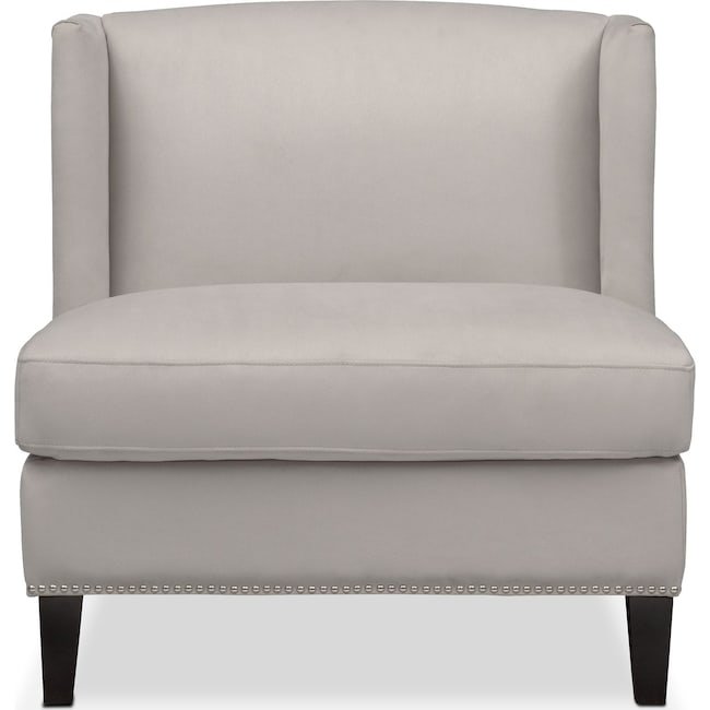 Living Room Furniture - Torrance Accent Chair - Light Gray