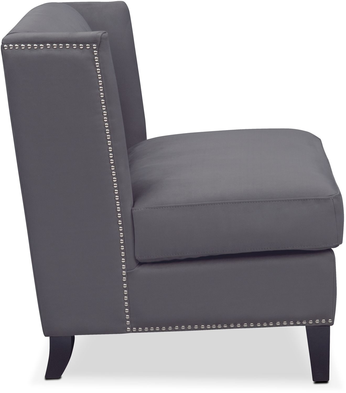 Torrance Accent Chair Dark Gray