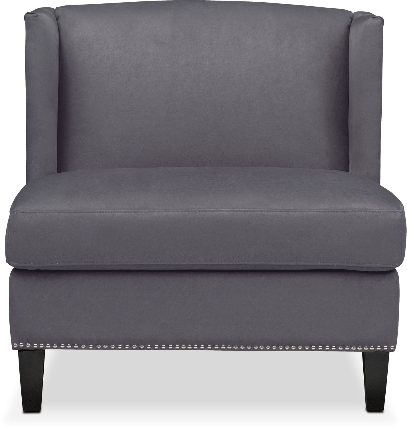andover upholstery half furniture chair blackmon mills pdp serta a and convertible gray