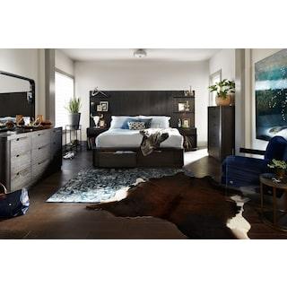 The Malibu Tall Bedroom Collection