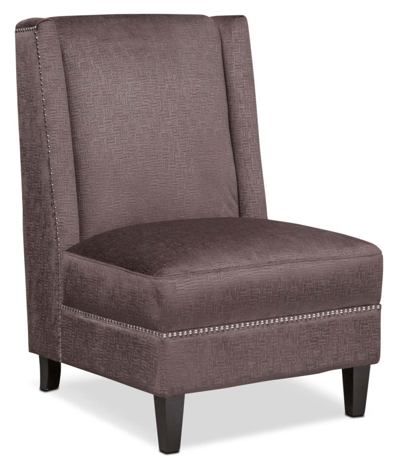 Roberto Accent Chair Brown Value City Furniture And