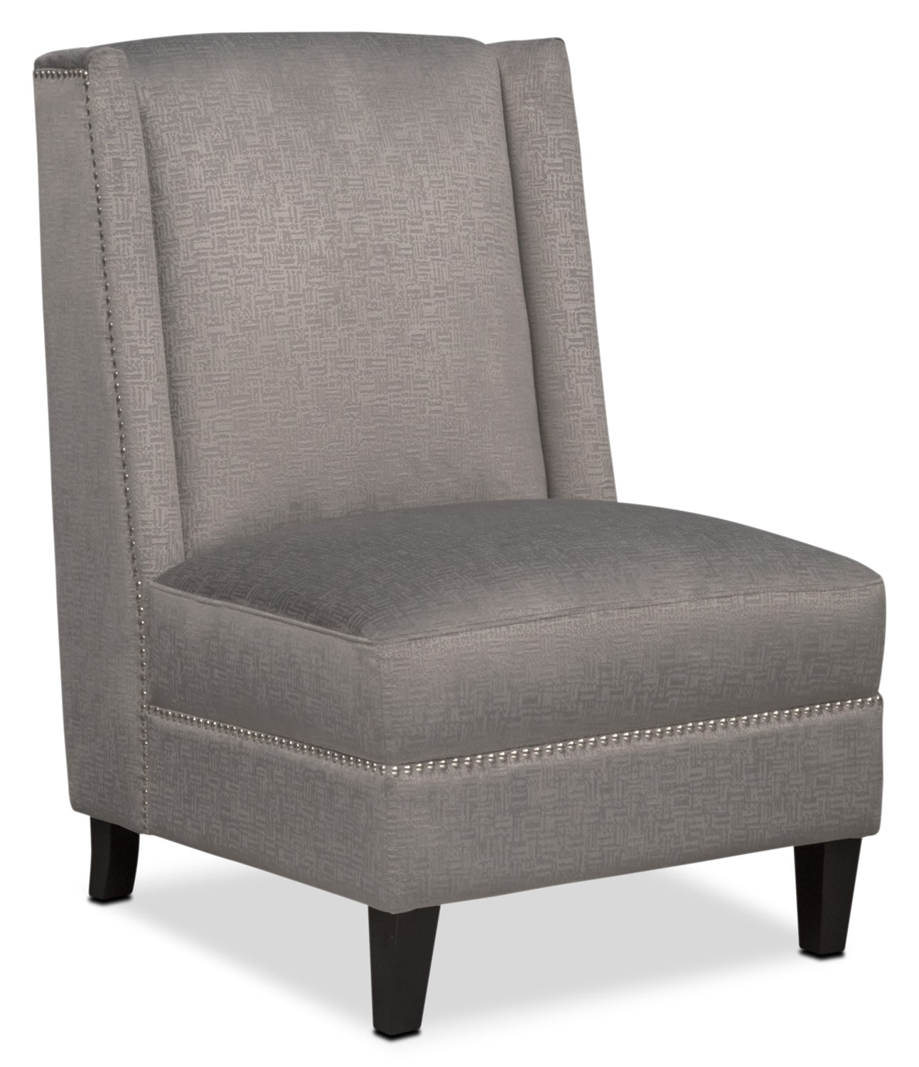 Roberto Accent Chair Gray