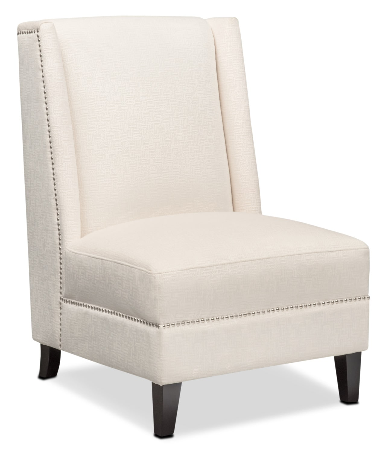 Accent And Occasional Furniture   Roberto Accent Chair   White