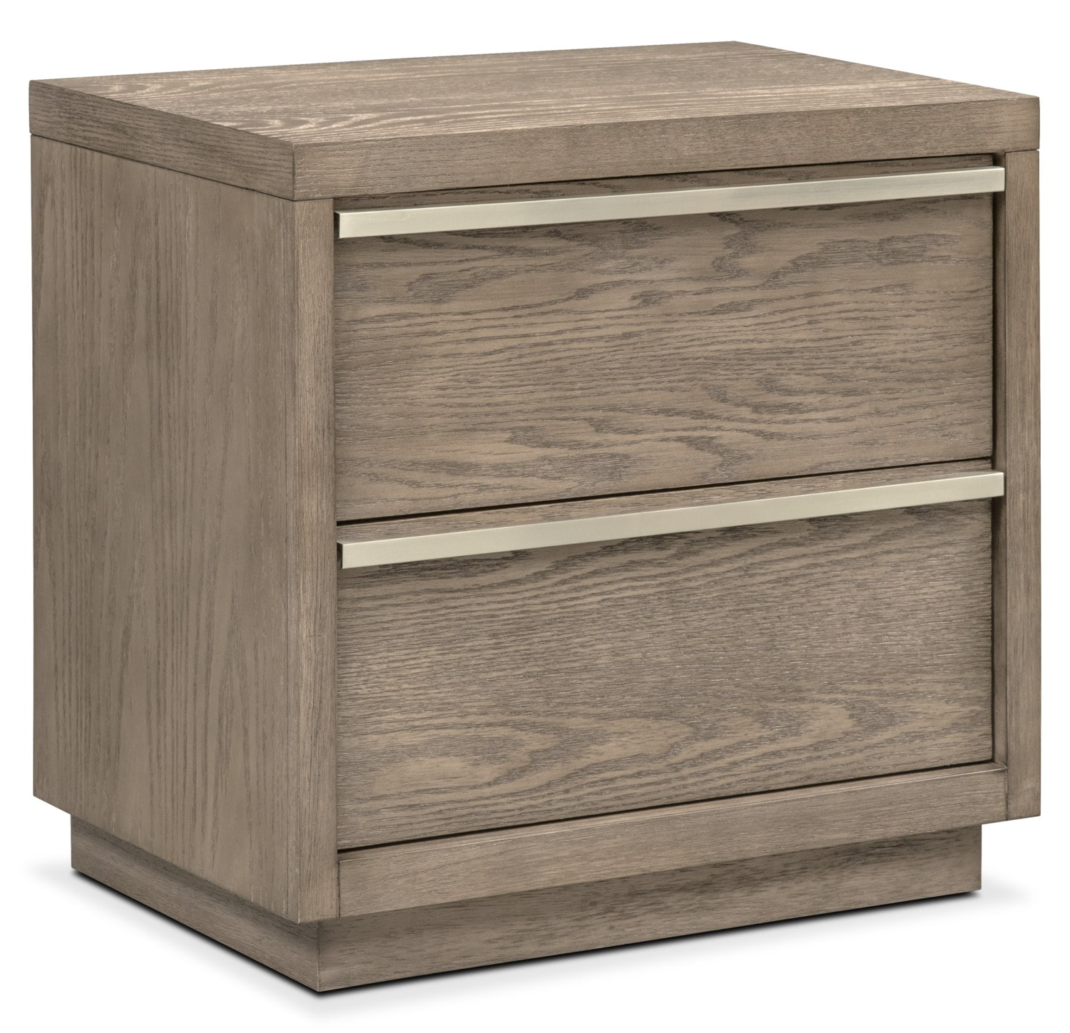 Bedroom Furniture   Gavin Nightstand   Graystone