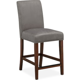 Alcove Counter-Height Side Chair - Gray
