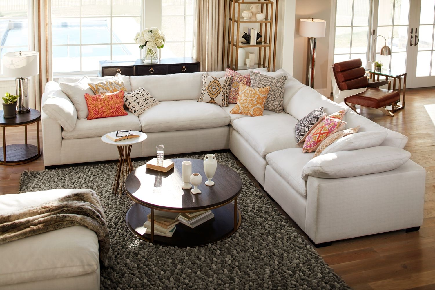 Plush 5 Piece Sectional Plush 5 Piece Sectional