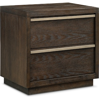 Gavin Nightstand - Brownstone