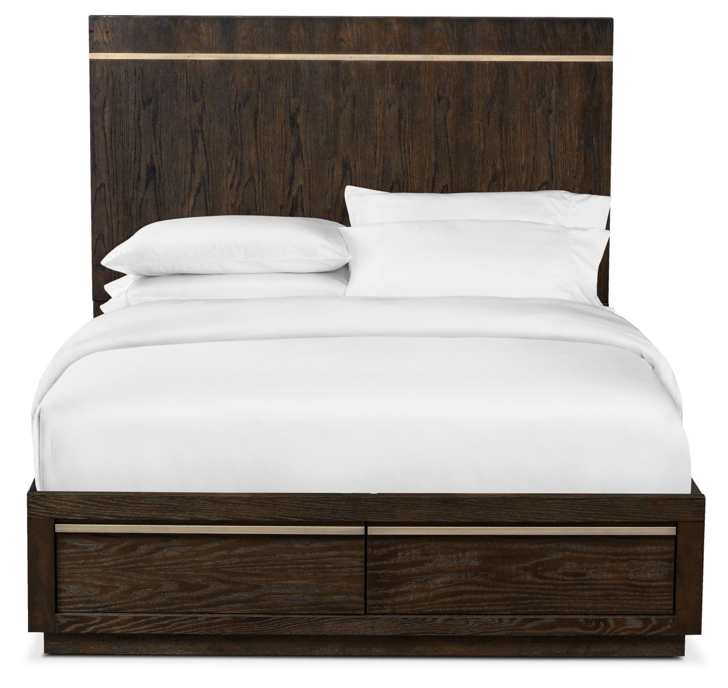 Click to change image.  sc 1 st  Value City Furniture & Gavin Queen Storage Bed - Brownstone | Value City Furniture and ...