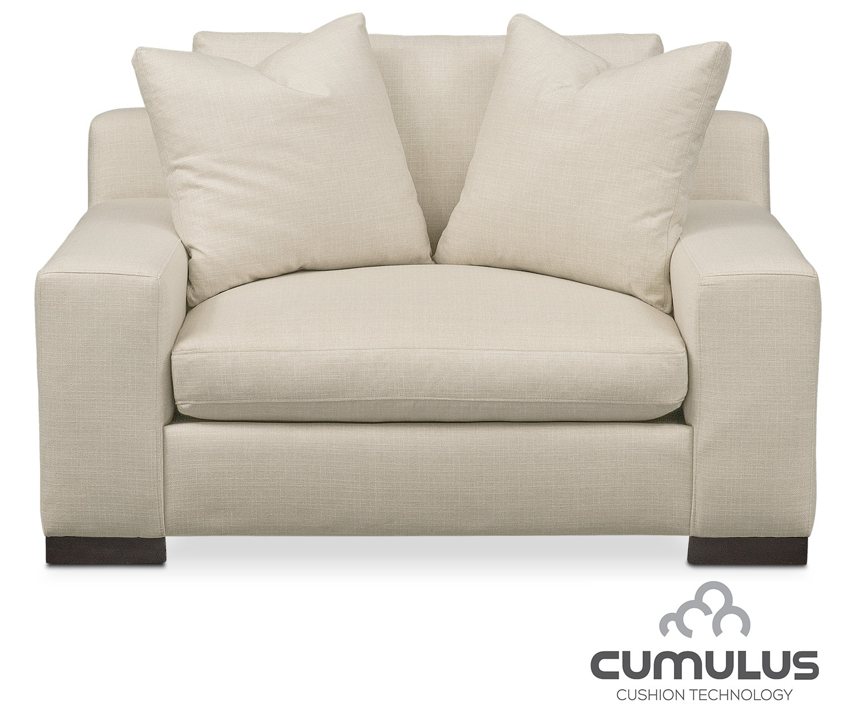 Ethan Cumulus Chair and a Half - Cream