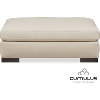 Ethan Cumulus Ottoman - Anders Cloud