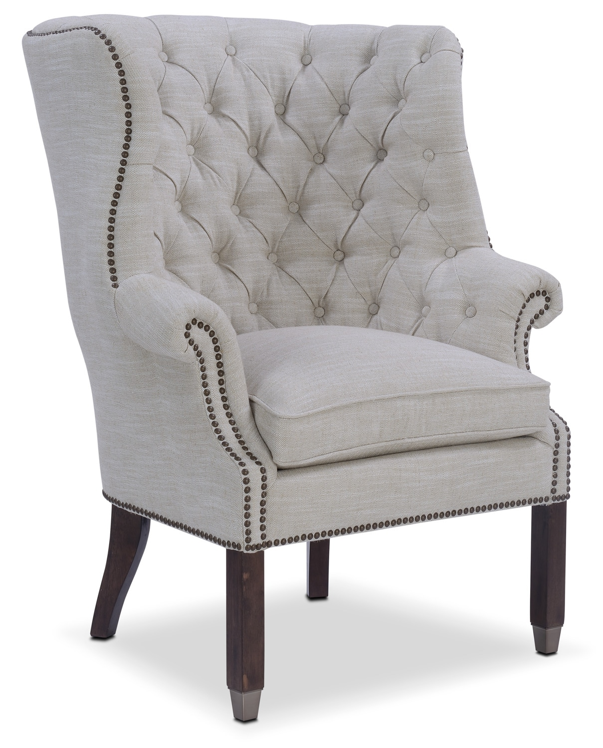 Accent and Occasional Furniture - Cranston Accent Chair - Ivory