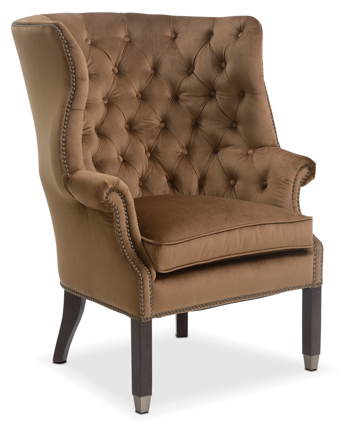 Accent and Occasional Furniture - Cranston Accent Chair - Sable