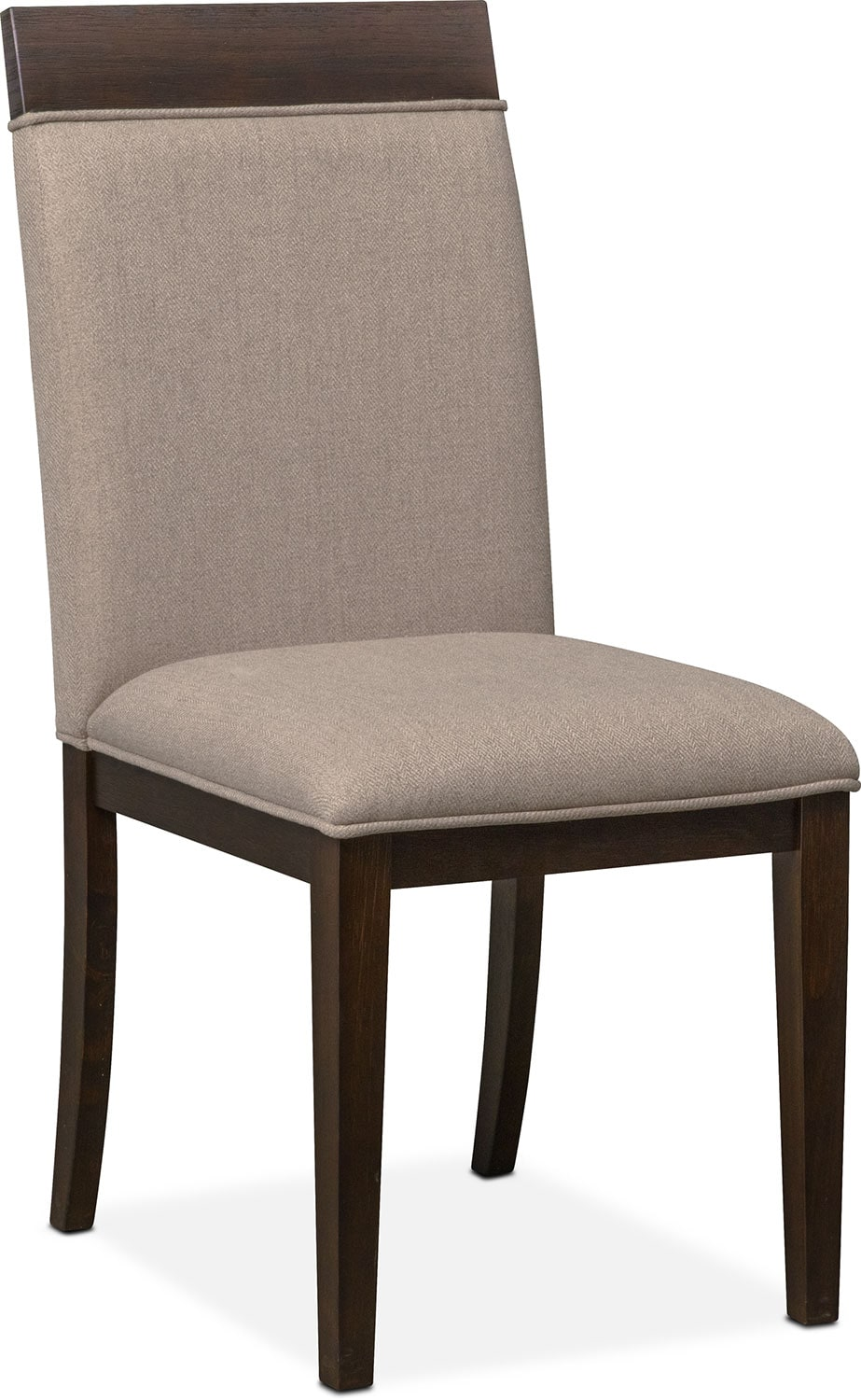 Gavin Side Chair - Brownstone