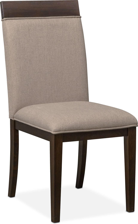 Gavin Side Chair   Brownstone