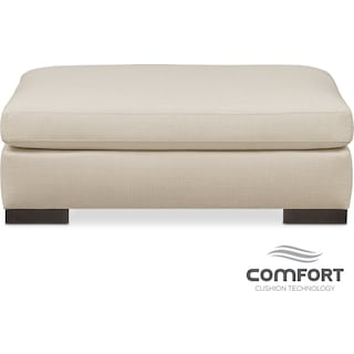 Ethan Comfort Ottoman - Anders Cloud
