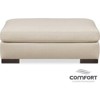 Ethan Comfort Ottoman - Anders Cloud