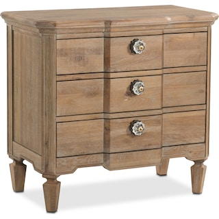 Regents Park Nightstand - Oak