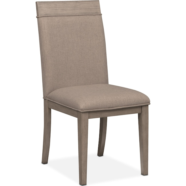 Dining Room Furniture - Gavin Side Chair - Graystone