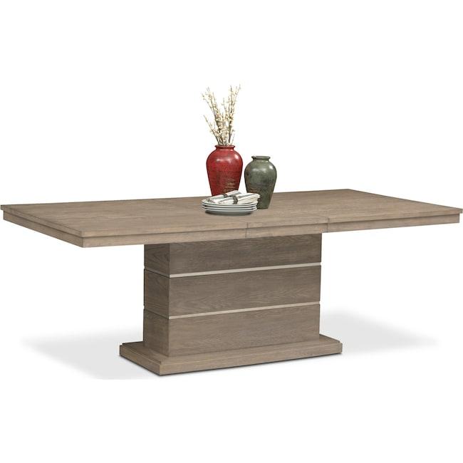 Dining Room Furniture - Gavin Pedestal Table - Graystone