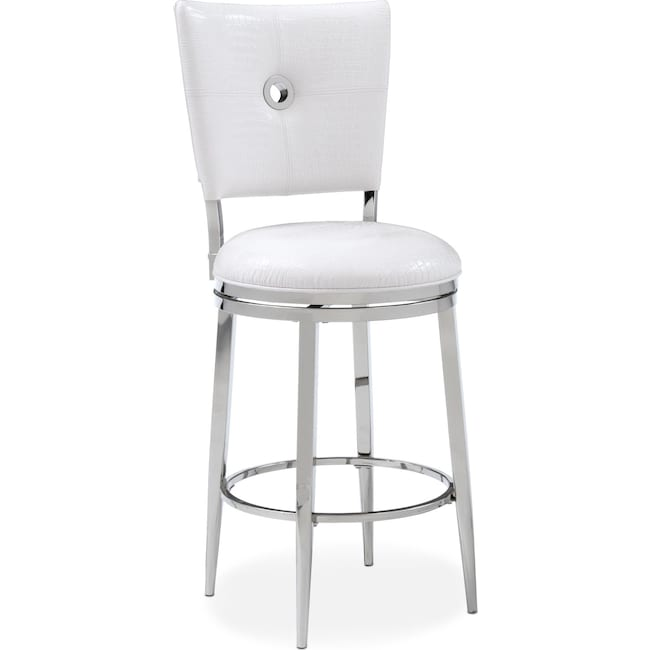 Dining Room Furniture - Debutante Counter-Height Stool - White