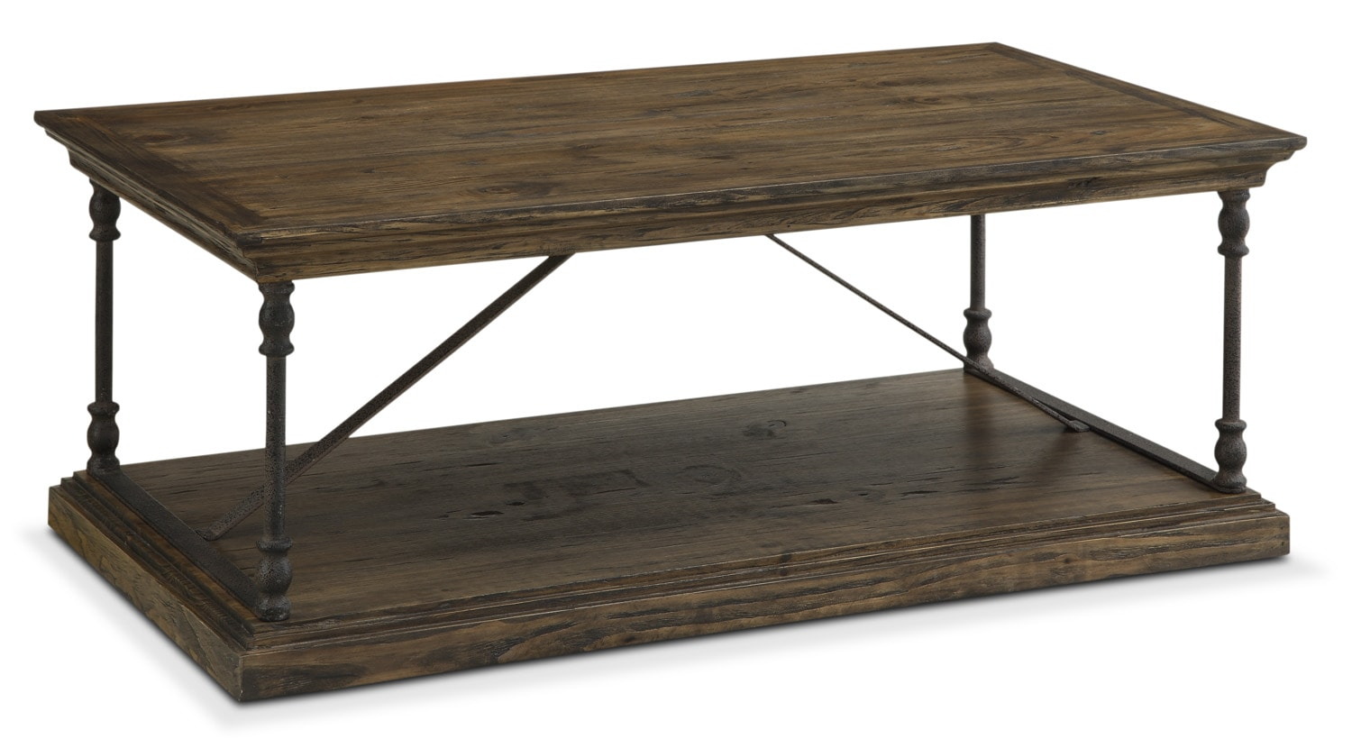 Accent and Occasional Furniture - Bedford Cocktail Table - Pine