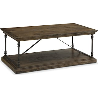 Bedford Cocktail Table - Pine