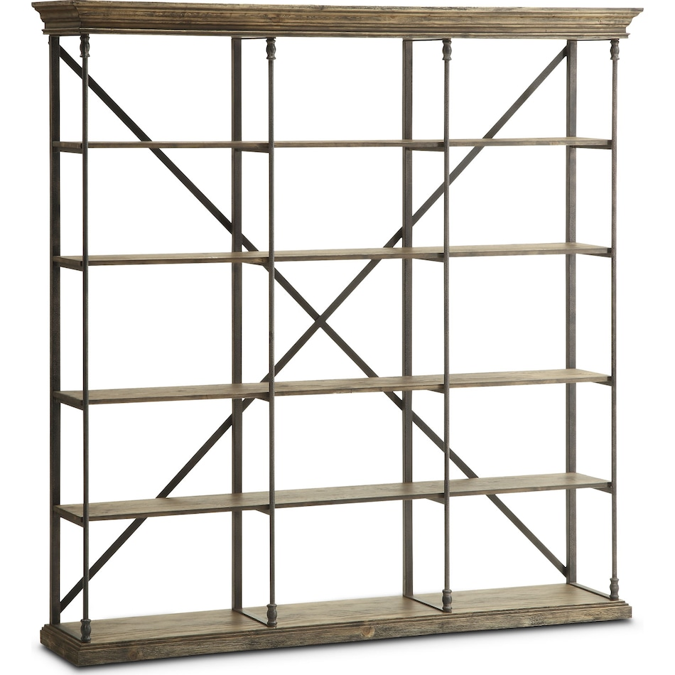 The Bedford Home Office Collection - Pine | Value City Furniture and ...
