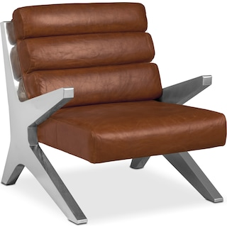 Keanu Accent Chair - Brown